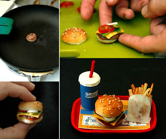 world   s smallest hamburger
