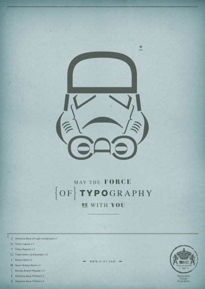 Star Wars in Type