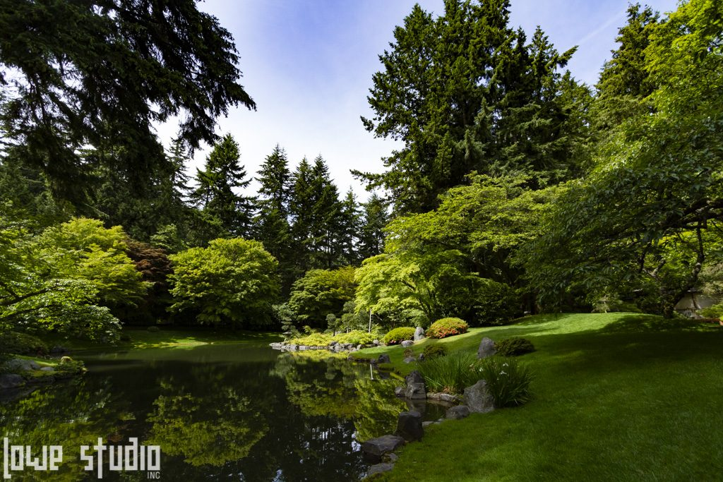 Japanese garden at UBC