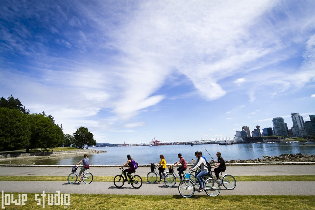 Taken from a moving horse carriage at Stanley Park