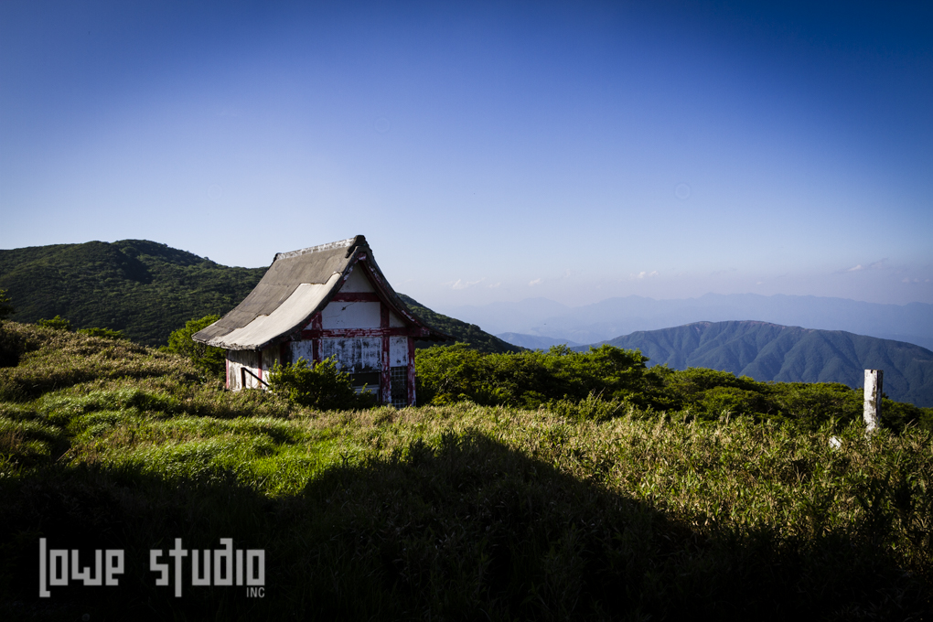 Temple out in the middle of nowhere. Hakone