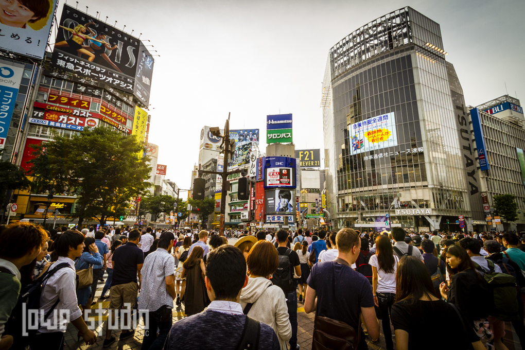 We had to visit that crazy intersection in Shibuya.