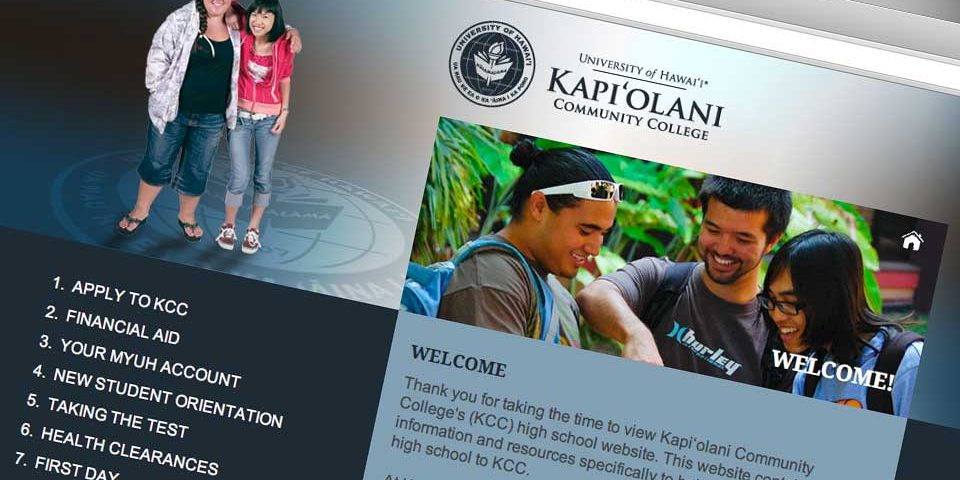 Kapiolani Community College Highschool Outreach