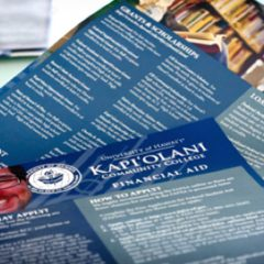 Kapiolani Community College Highschool Outreach